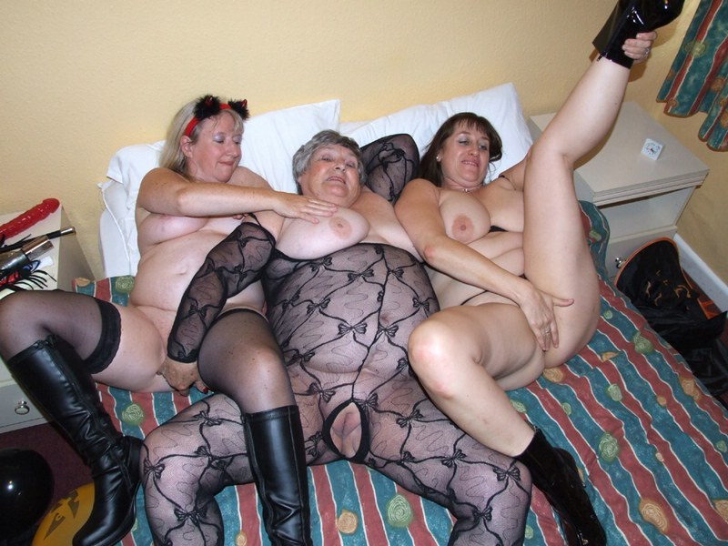 All Granny grandpa orgy idea