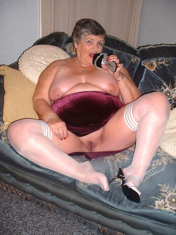 Bbw mature granny stockings