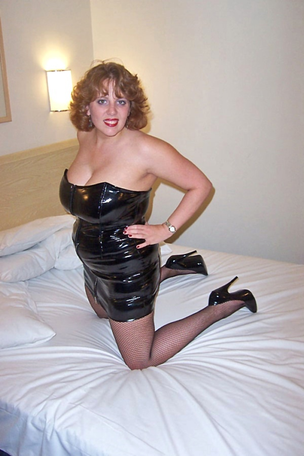 Hot leather dress xxx