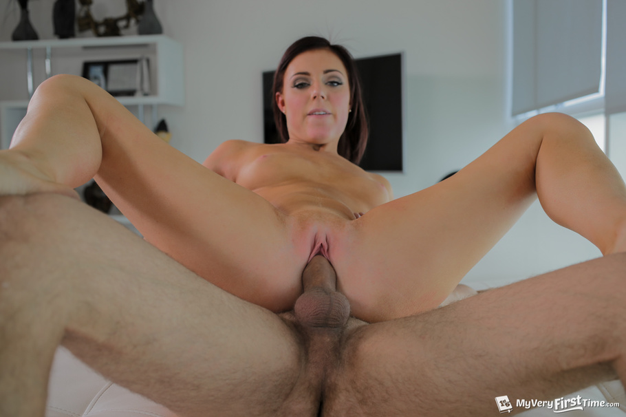 French Brunette Amateur Anal