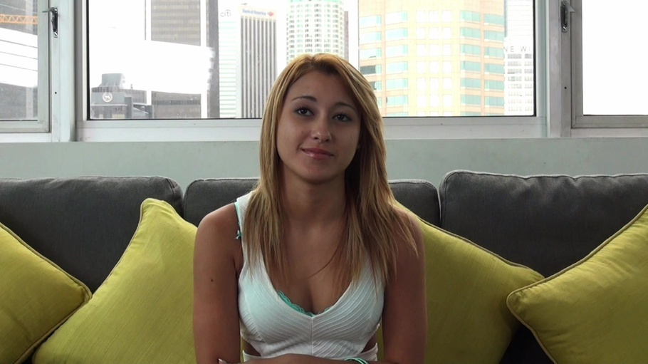 Shy Blonde Casting Couch