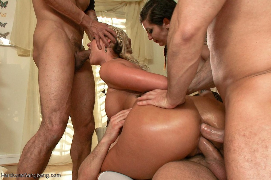 Wife Rough Hardcore Gangbang
