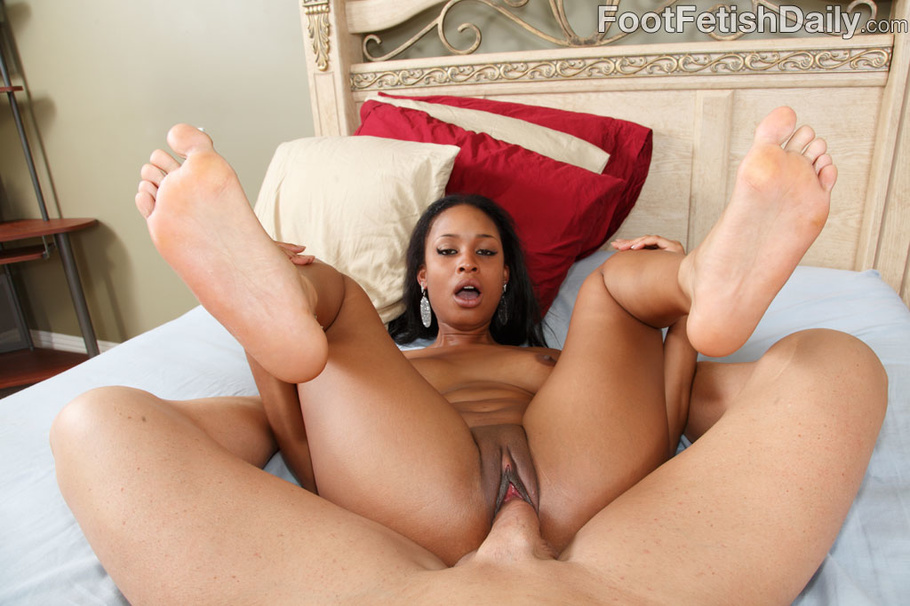 Interracial Star Feet Porn