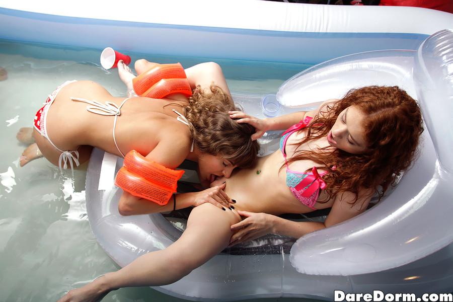 Pool sex toys