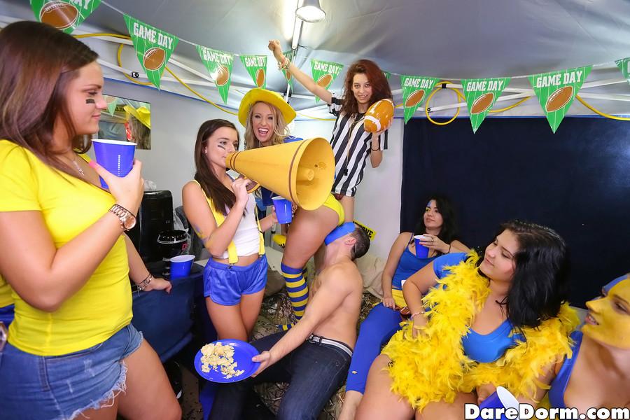 Football girls havin sex