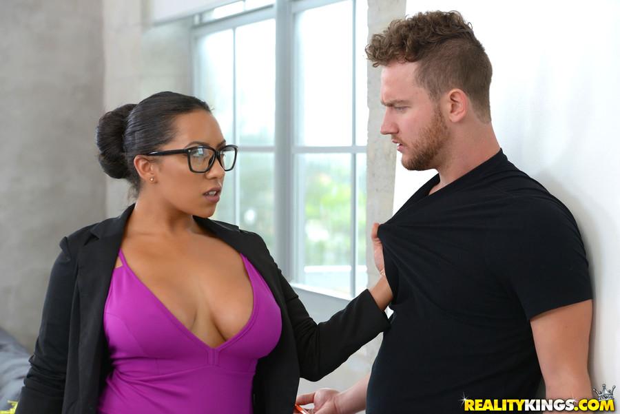 Skinny wife huge cock
