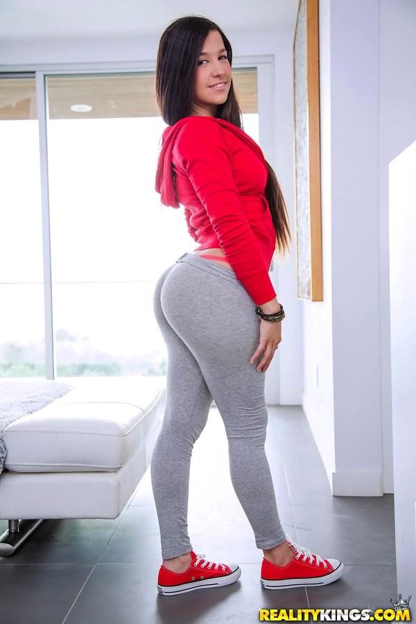 Big Round Ass Yoga Pants