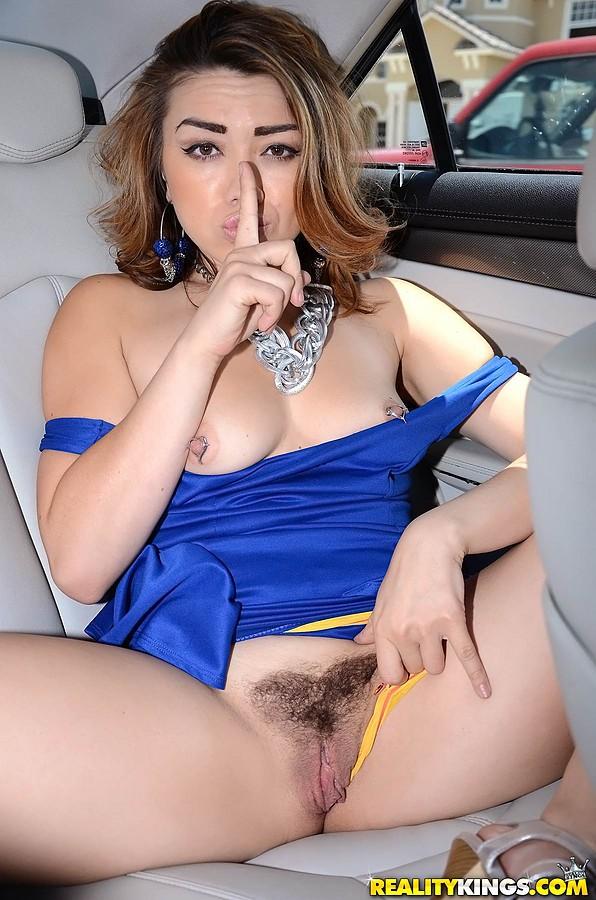Girl naked selfie cum