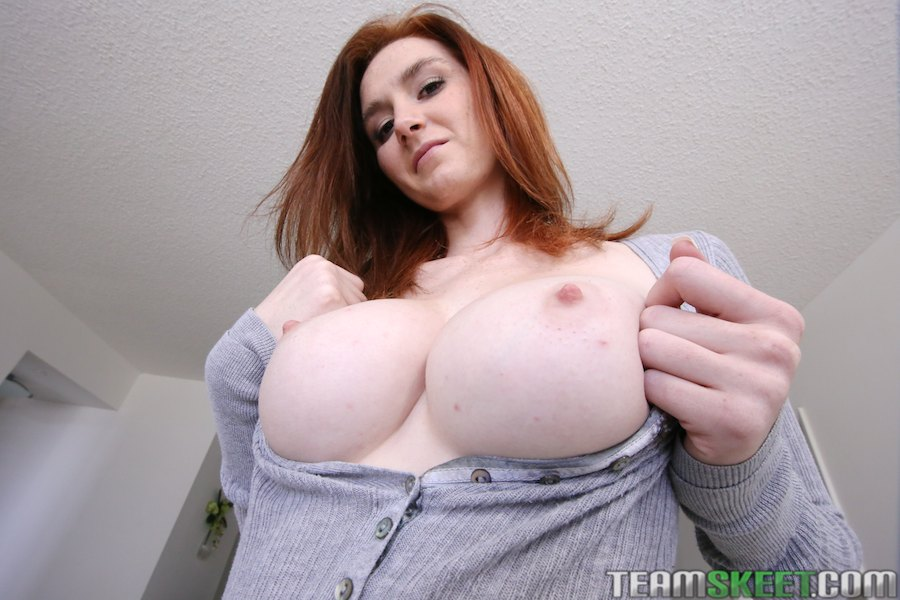 Busty pink tits