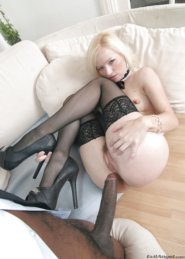 Blond Amateur First Anal