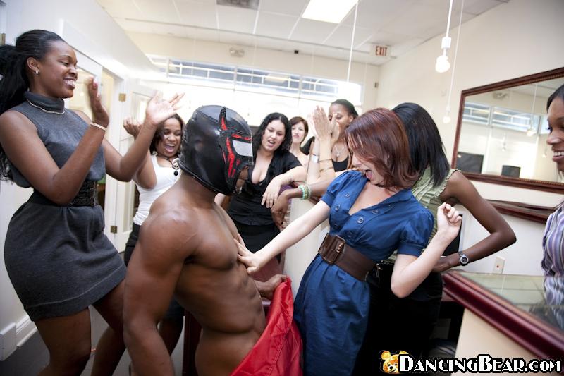 Ebony Stripper Locker Room