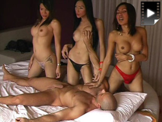 ladyboys worship guy takes