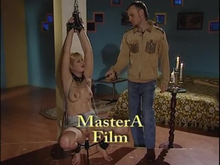 pussy fucked blonde slave