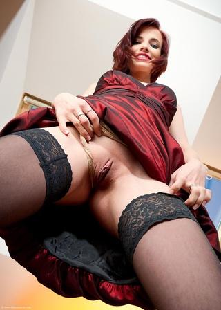 leila with big black