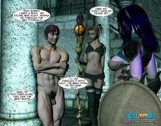 sexy huge boobed elf