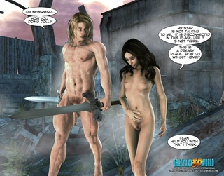 naked knight nude girlfriend