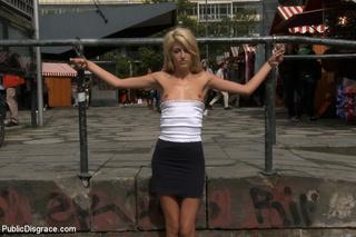 super cute blonde slave
