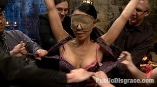 bound suspension bondage asian