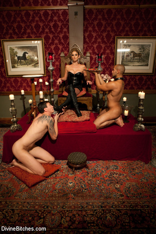 female domination blonde mistress
