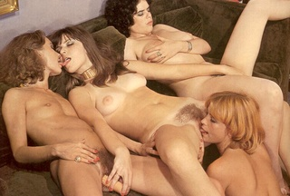 hairy seventies lesbians playing