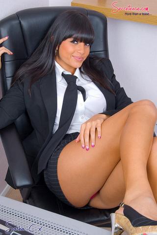 Porn girl model in hotel