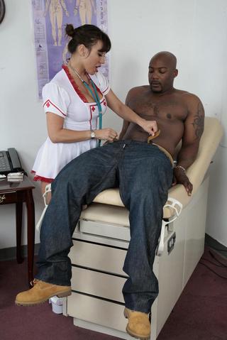 busty asian nurse white