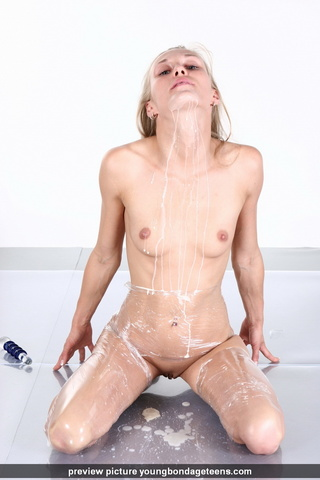 plastic bondaged perku tits
