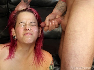 fucked her face nice