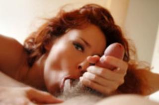 redhead erotic babe passionately