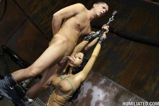 rope bondage slut fucked