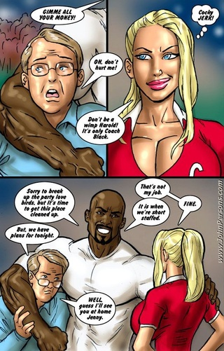Interracial cartoon porn gallery