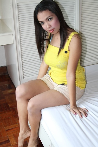 lovable pretty hot-going asian