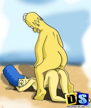 fat homer simpson ass