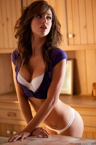 hot chick white bra