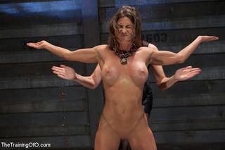 perverted mistress torturing bound