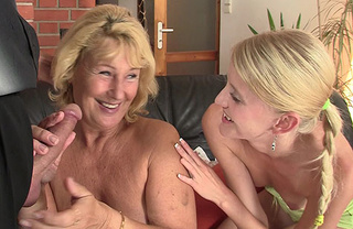 nasty blonde mom drilling