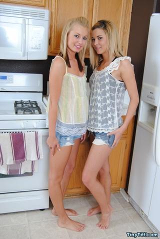 naughty teen gals undress