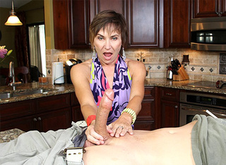 nasty mom enjoys beating