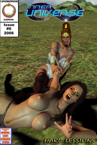horny toon mistress treating