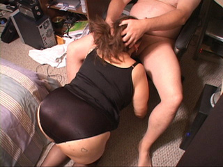 chubby cunt stockings black