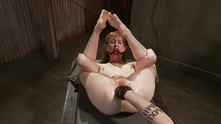 tightly roped bitch red