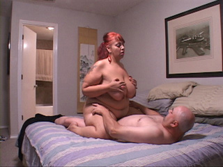 busty red latina mom