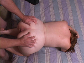 red chubby milf doggystyled