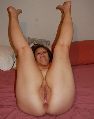 chubby mature shows off