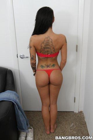 amateur, cum, tattoo, white