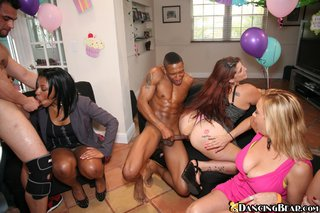 amateur, party, threesome, white