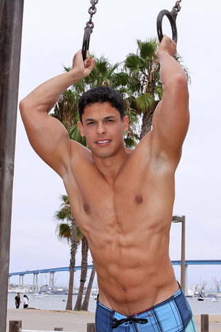 muscular latino dude carlos