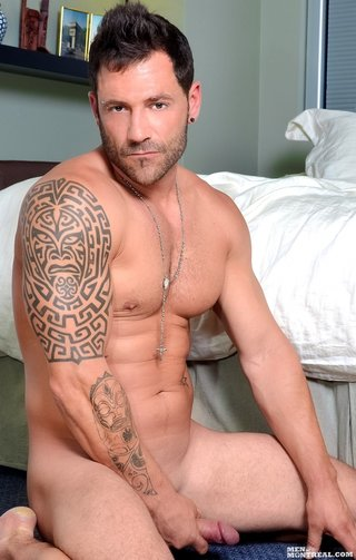 handsome hunk shows well-chiseled