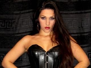 brunette dark misstress perform