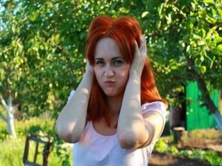 redhead orange